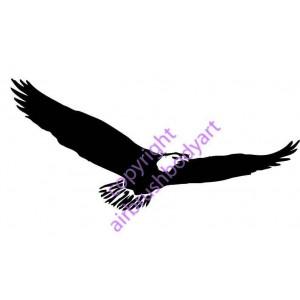 0248 eagle reusable stencil